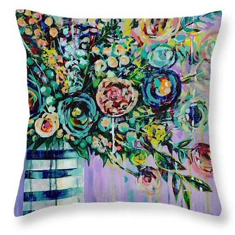 Blooms of Joy Cushion