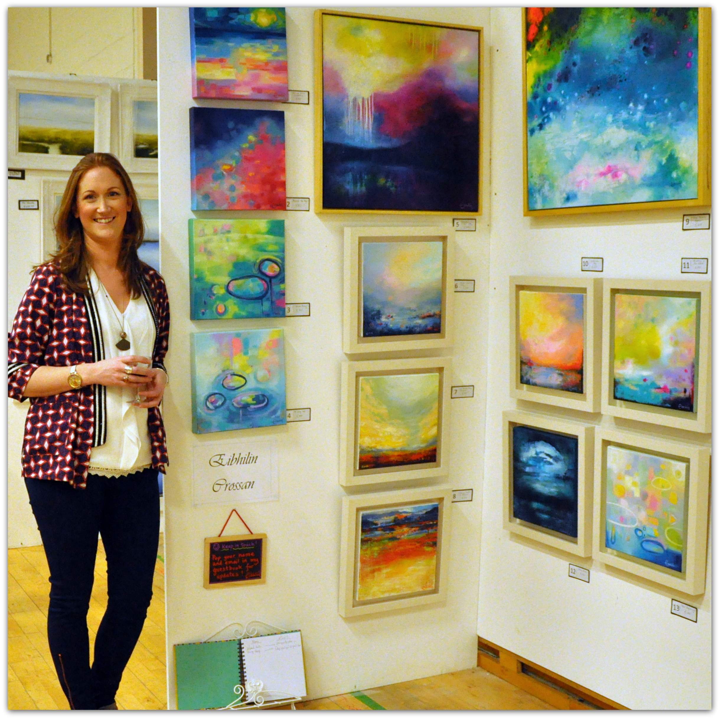 Lucan Art Fair Exhibition, Dublin