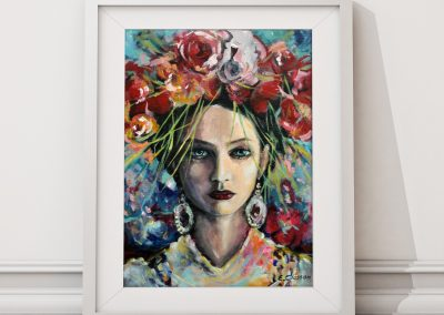 Goddess of Inspiration Framed 2