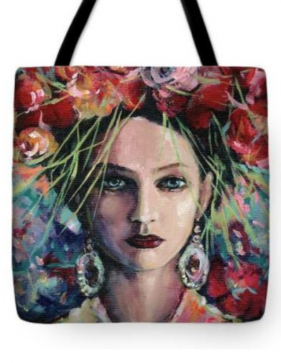 Goddess of Inspiration Tote Bag