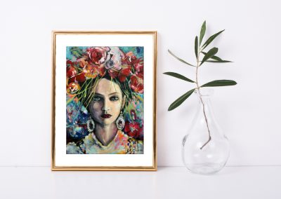 The Goddess of Inspiration Print