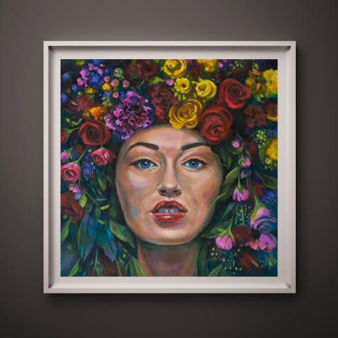 Flora, Goddess of Abundance 1