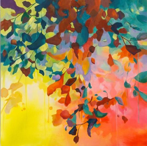 Golden Solstice by Irish Artist Eibhilin Crossan