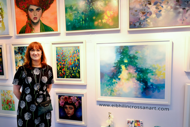 Eibhilin Crossan Art at Artsource 2017 in the RDS Dublin