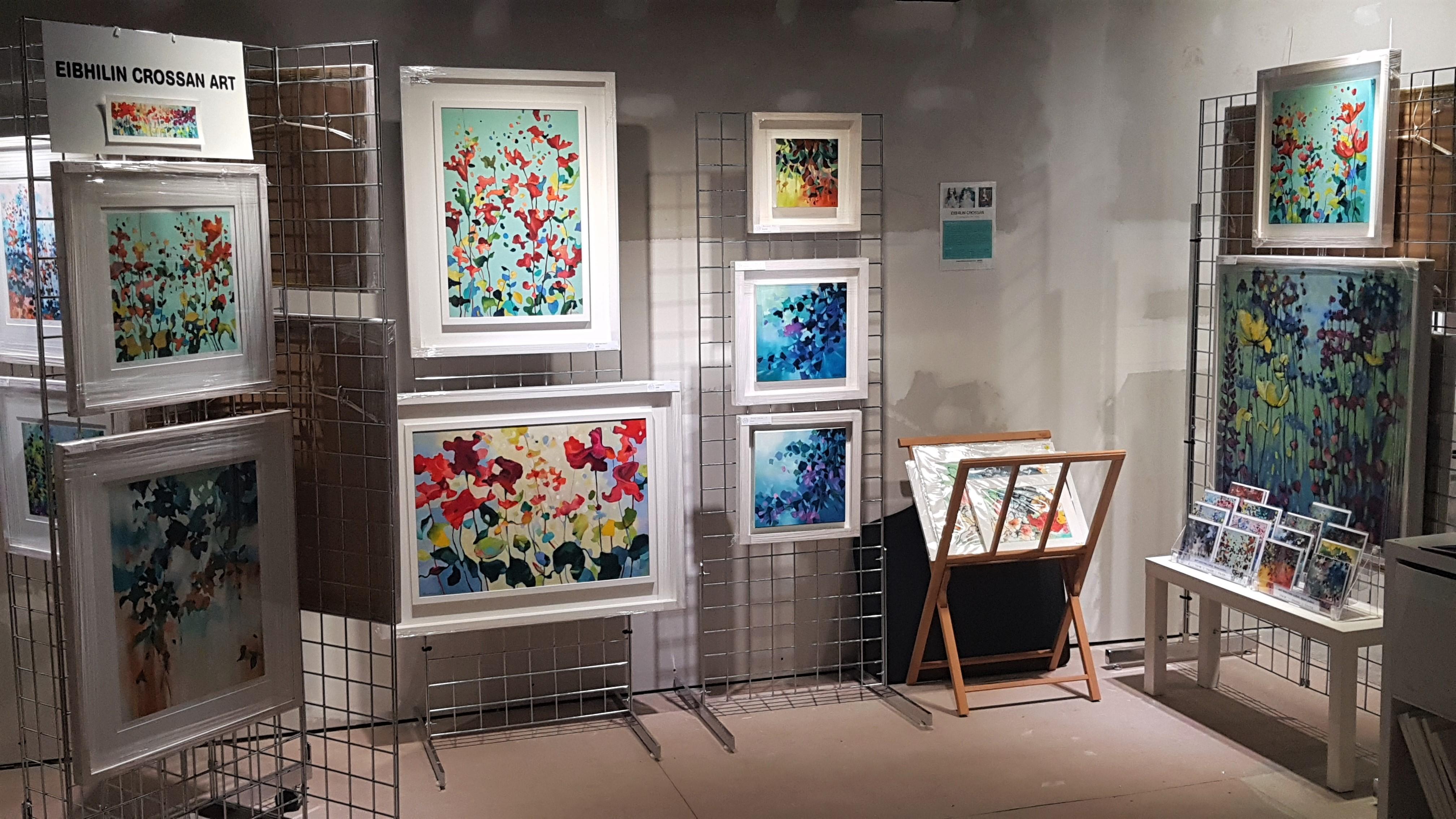 Cruthú Arts Festival Pop up Gallery