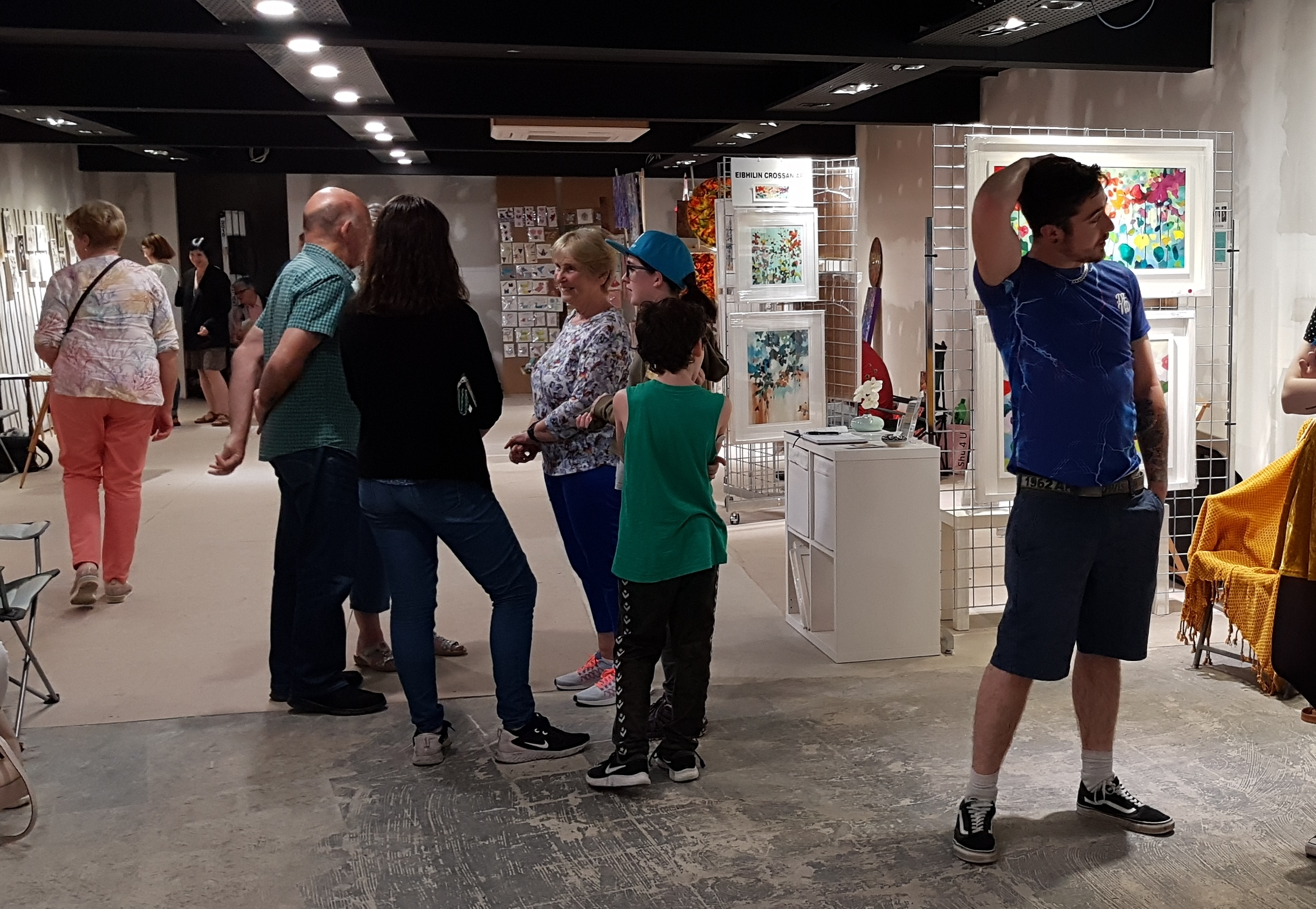 Cruthú Arts Festival Pop up Gallery