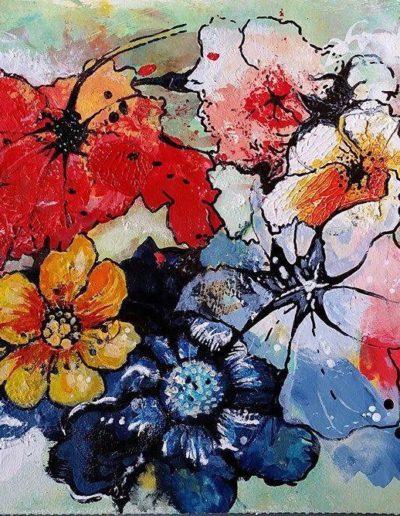 Painting by Irish Artist Eibhilin Crossan